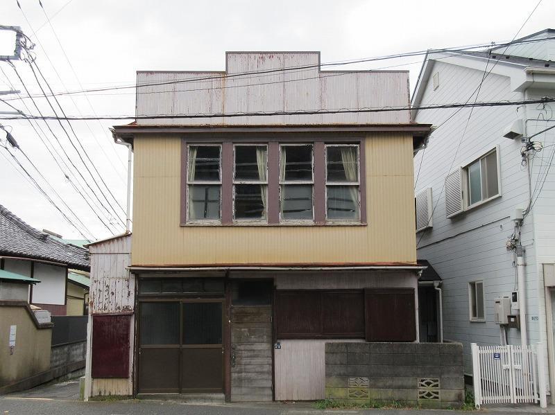 工事前の建物の様子。大正時代の建物は鎌倉では希少