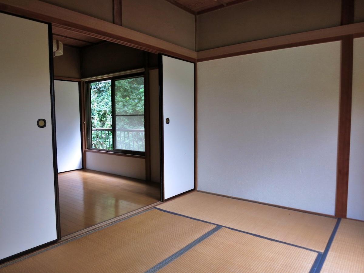 室内の様子|本当に一般的な35年前のアパート
