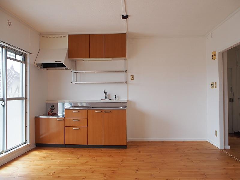303号室キッチン