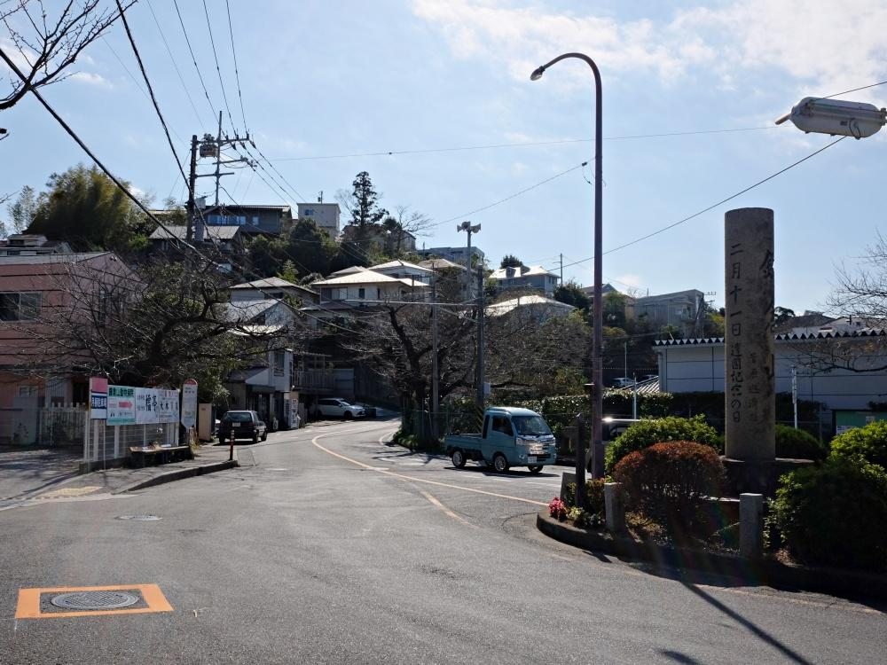 実は鎌倉山ロータリーから見えてます。バスに慣れたら大船駅の利用が便利