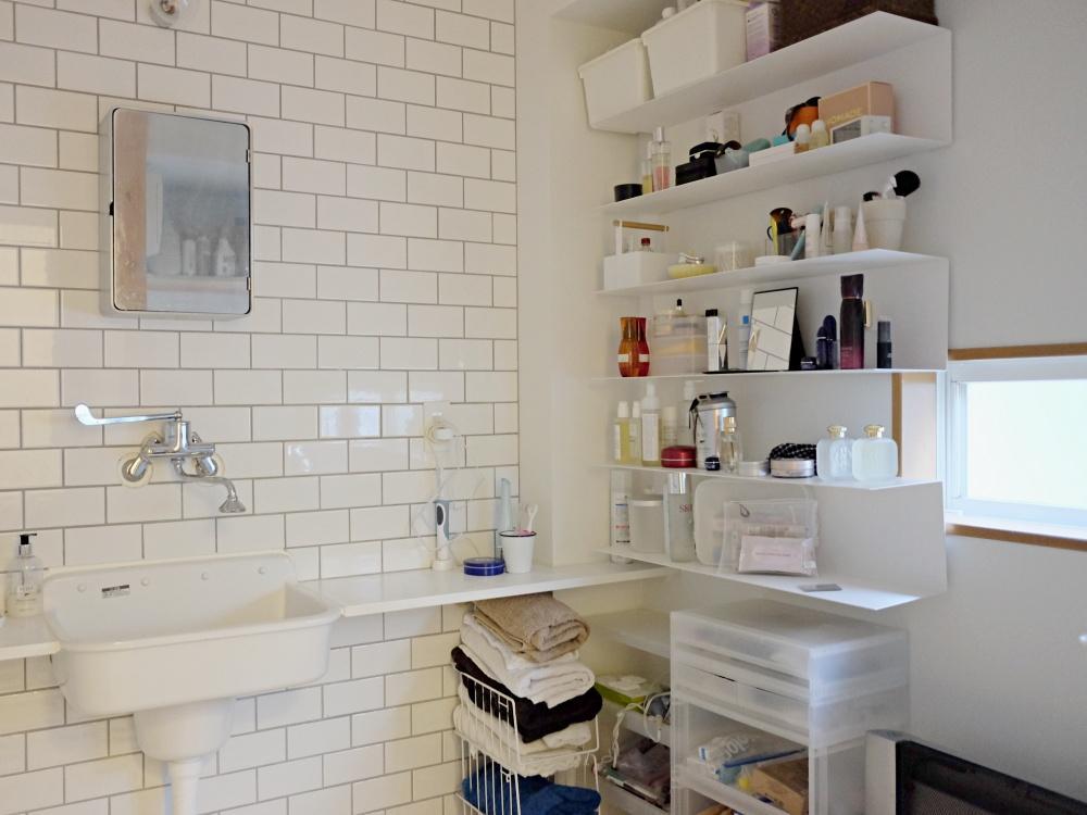 1階 サニタリースペース+洗濯室。広いです。