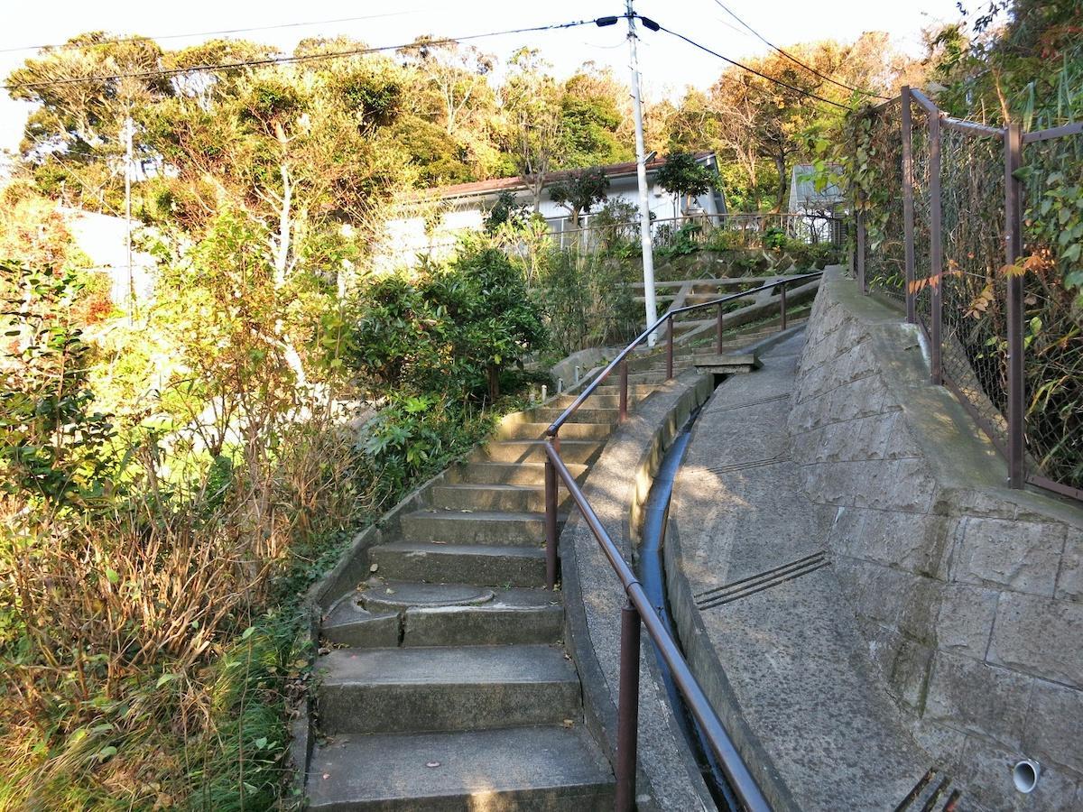 こちらがタフな階段