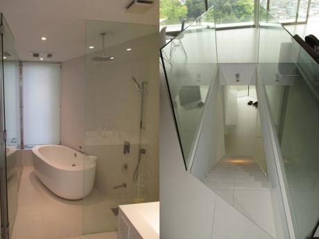 浴室|階段