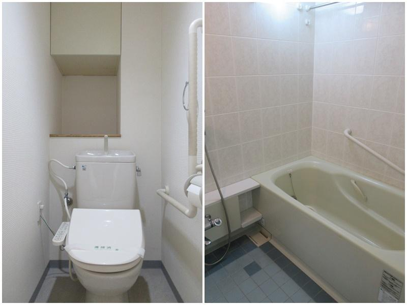 トイレ|浴室はやや古め。更新したくなる