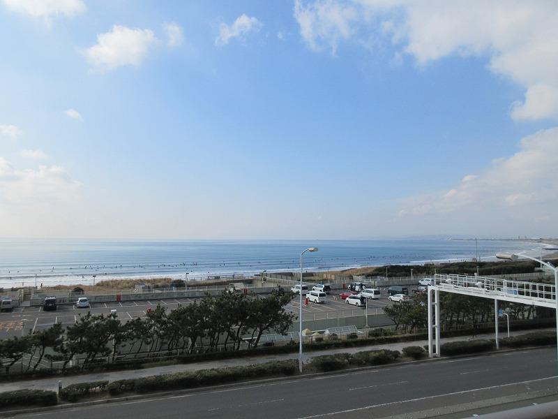 視界よし!(空気が澄んでいる日は富士山が見えます)