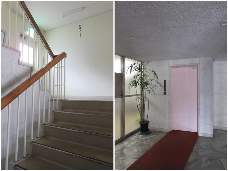 共用部 階段 エレベーター