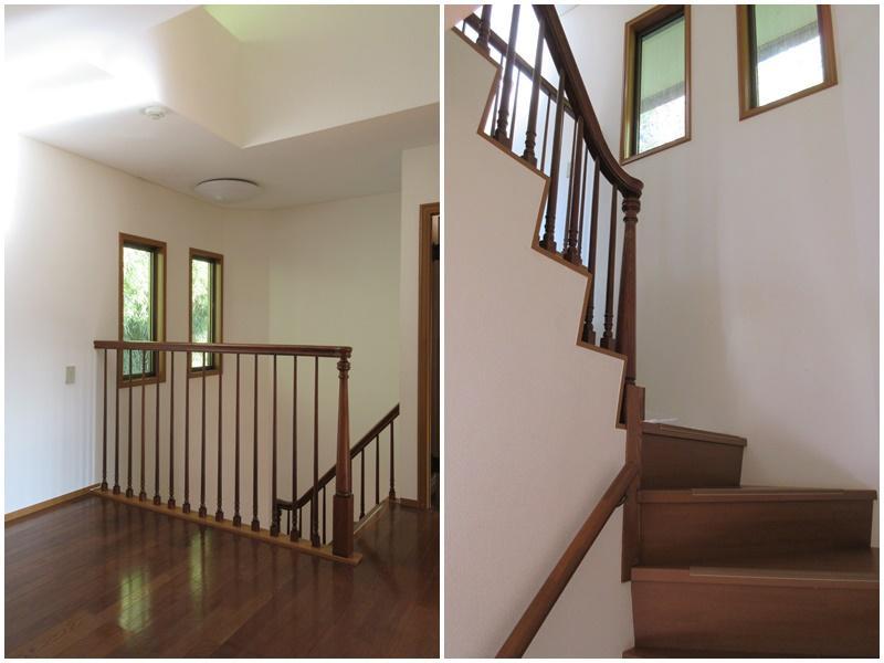 階段がいい雰囲気
