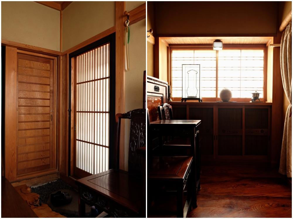 【東棟】贅沢な造りの日本家屋です。