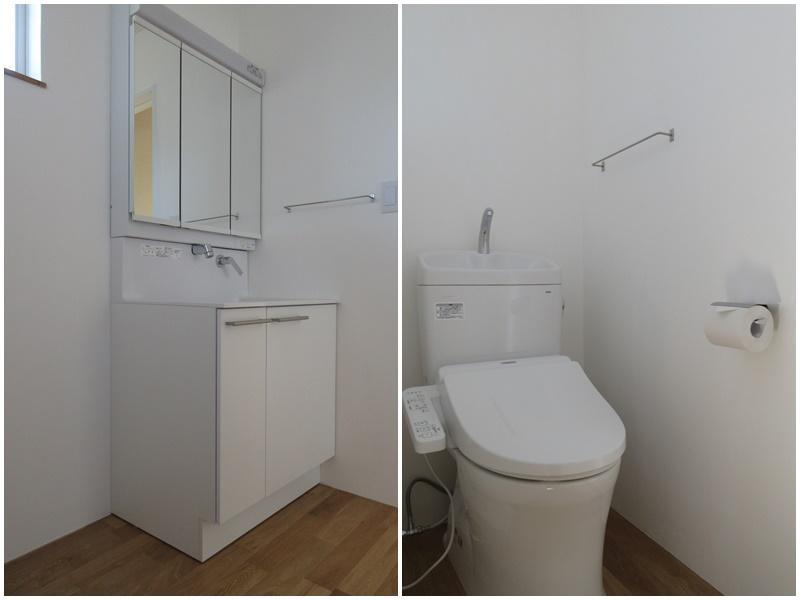 洗面脱衣所|1階のトイレ
