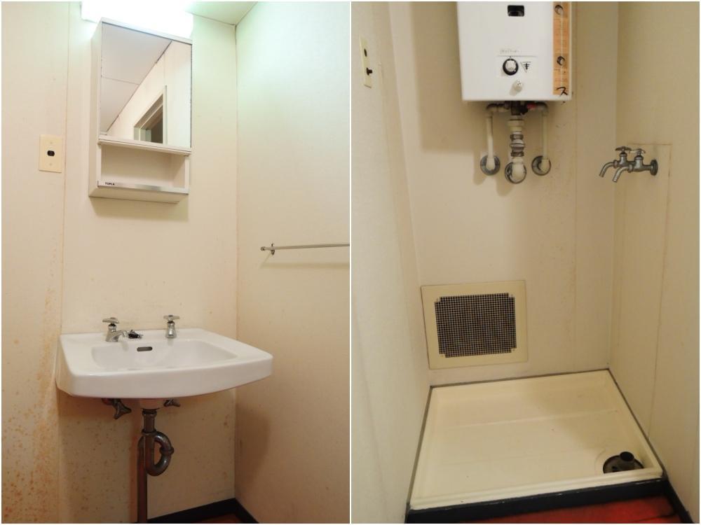 洗面所|洗濯機置き場