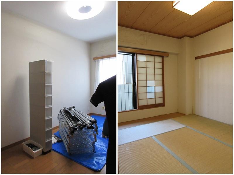 1階の洋室|和室(ここは窓が共用部に面しているため、改装時に工夫したい)