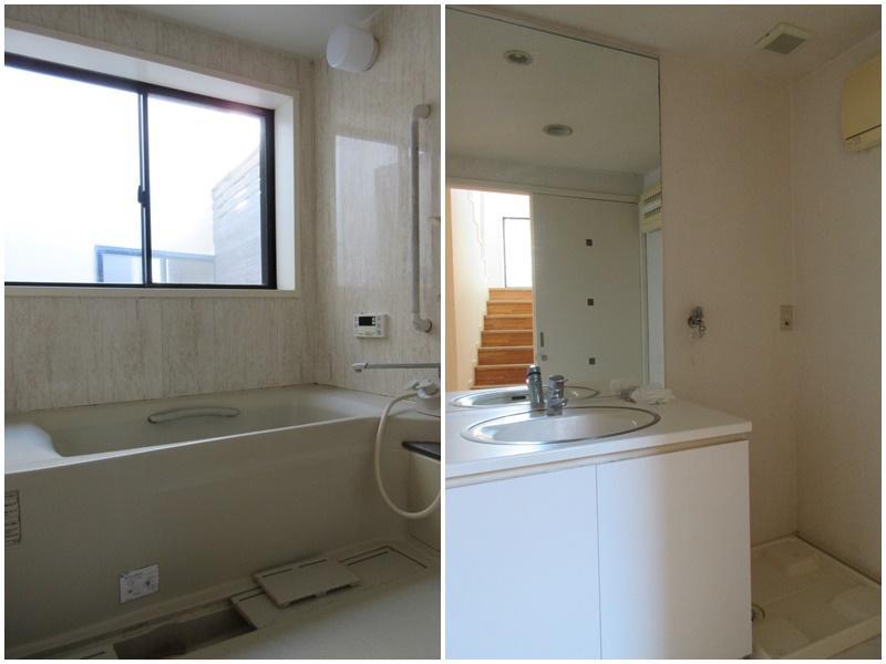 浴室にも窓|洗面