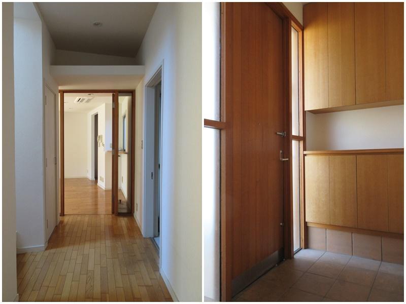 廊下も明るい|玄関