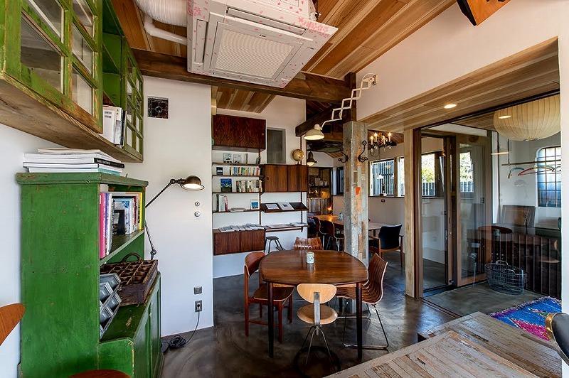 週末はカフェとして開放されている1階共用部