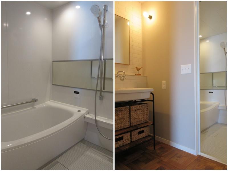 広めの浴室|洗面脱衣所