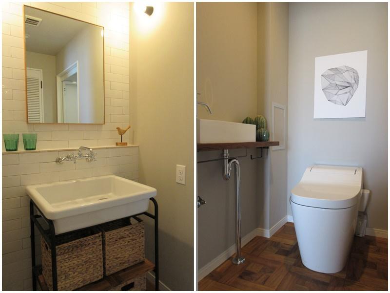 洗面台がキュート|トイレ