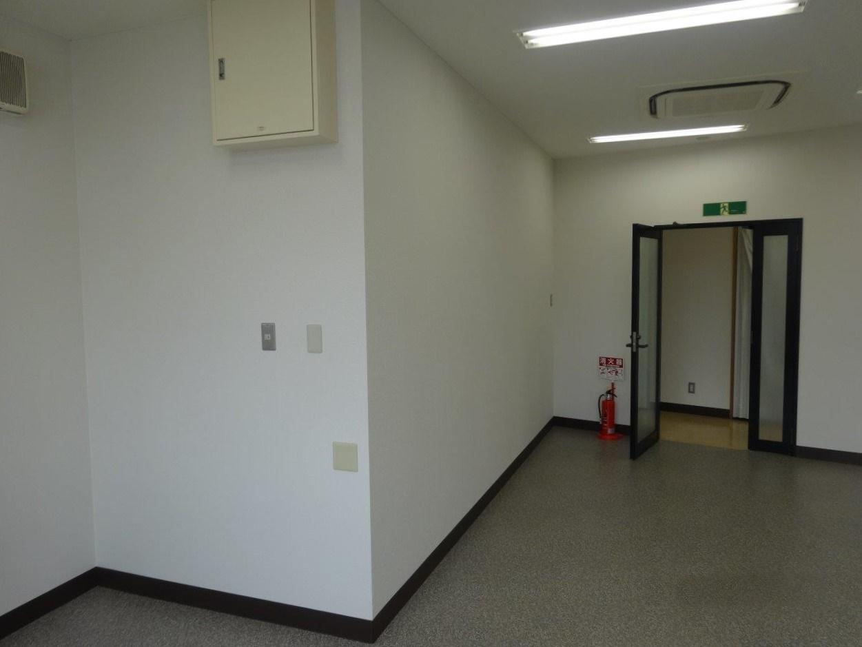 201号室|階段があるので、やや変形です
