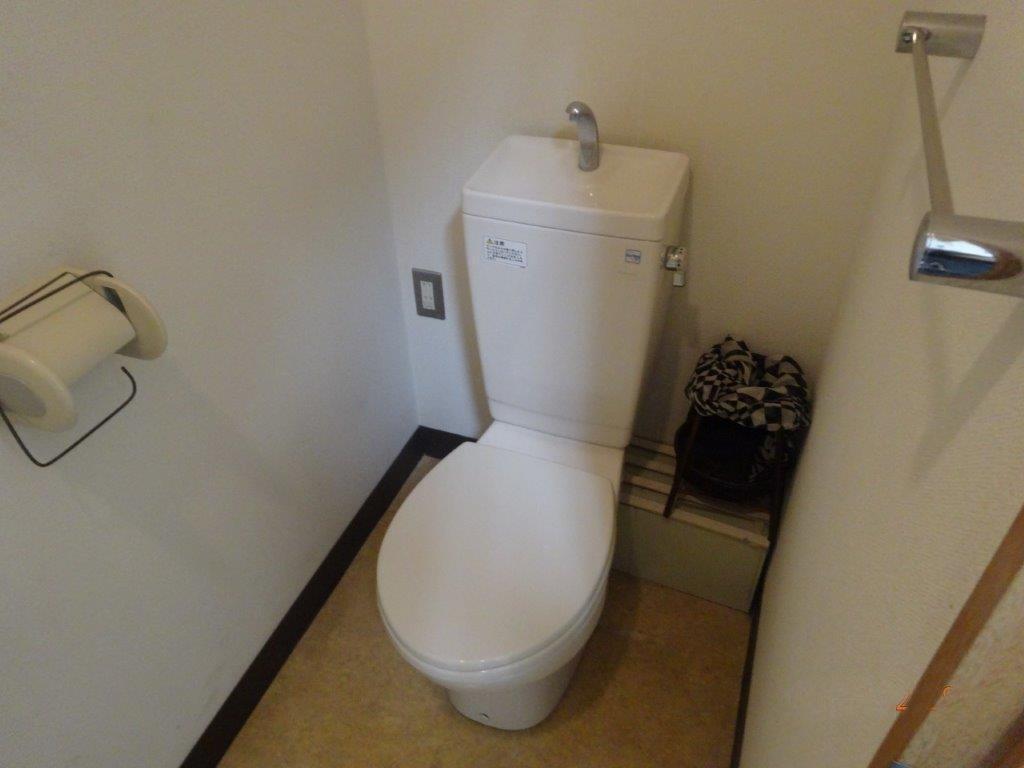 トイレは共用です