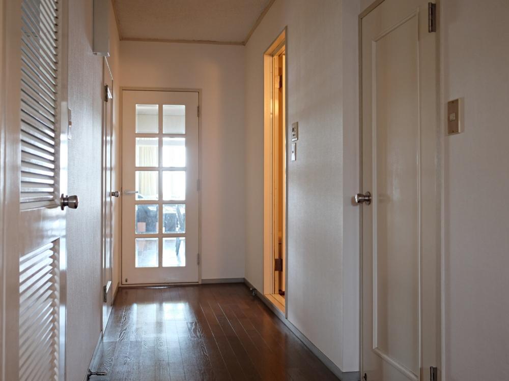 廊下幅がゆったり。