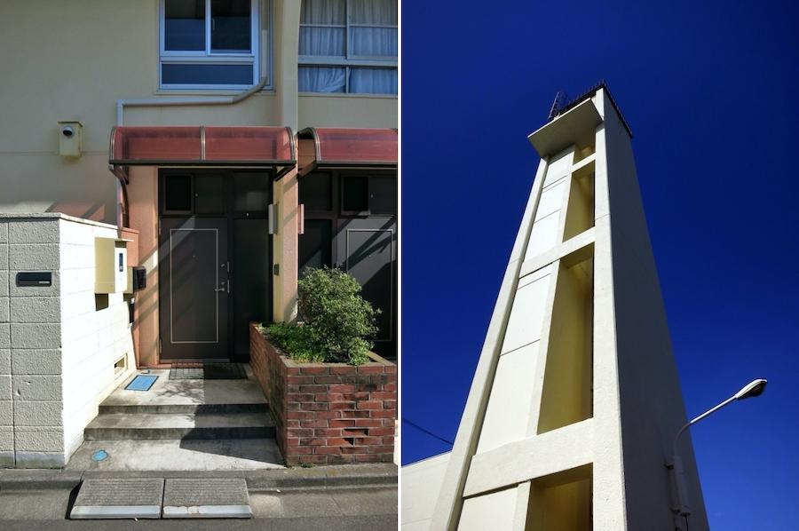 左:エントランス|右:塔