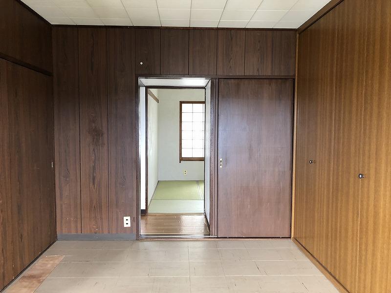 南側の洋室は引き戸を取り払えば大きなリビングになります。