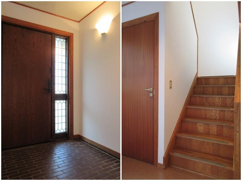 玄関|階段