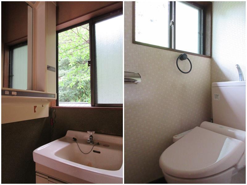 2階の洗面|2階のトイレ