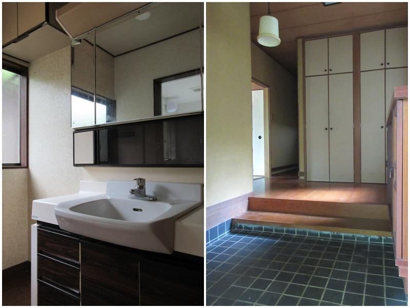 1階の洗面|玄関