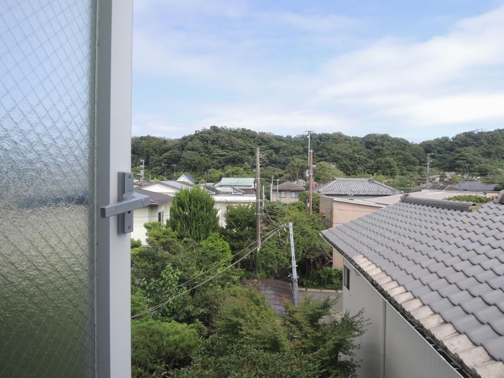 個室からの眺望