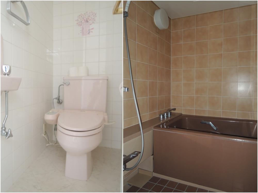 トイレは2箇所|浴室