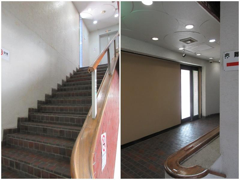 共用部の階段|廊下