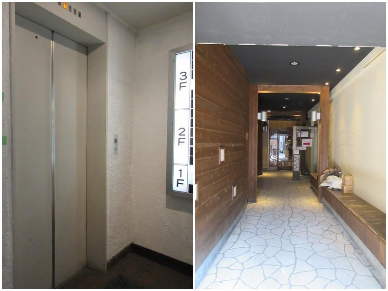 エレベーター有|ビルの入口