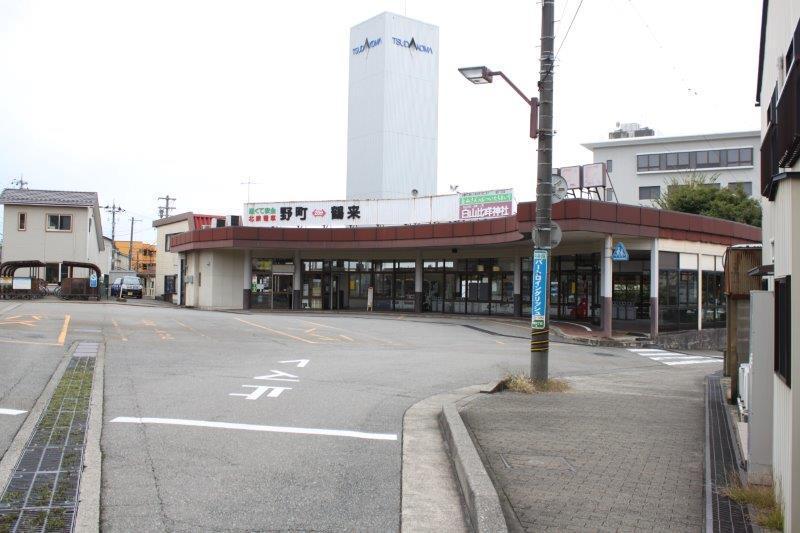 ローカル線・野町駅からも徒歩4分。