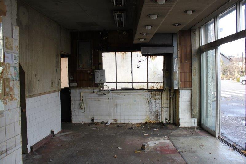 1階店舗スペース