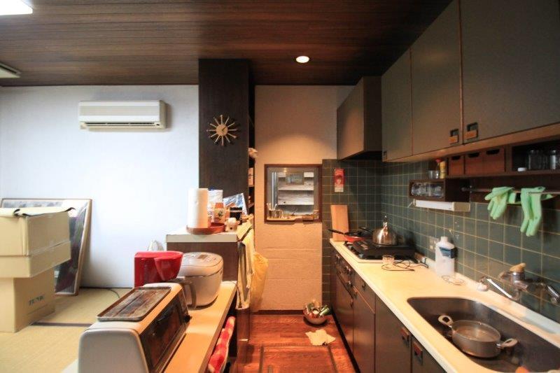 キッチン。1度リフォームしています。