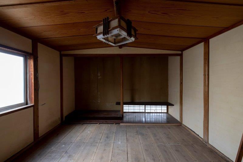 【レトロ棟】和室。