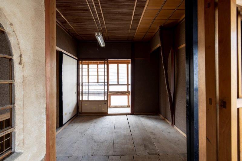 【レトロ棟】1階和室。
