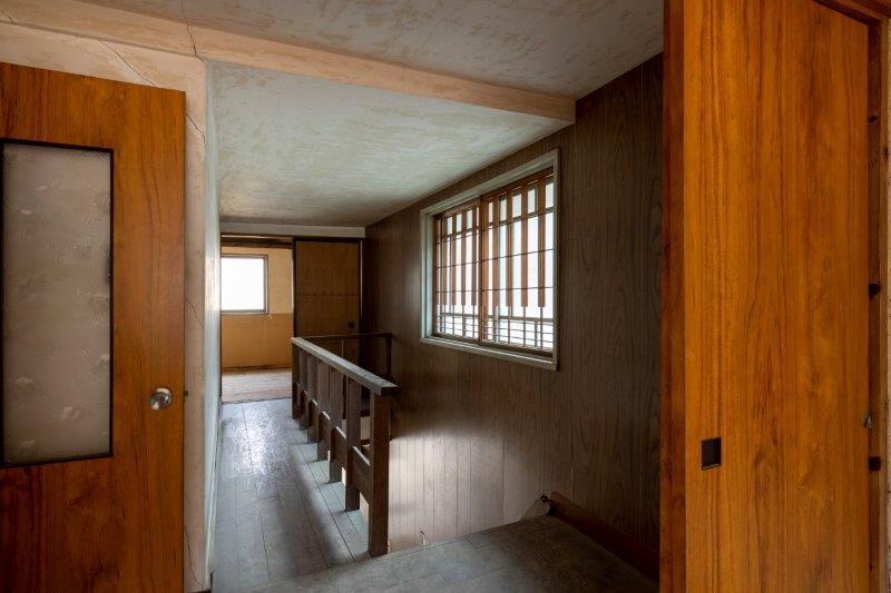 【レトロ棟】2階廊下