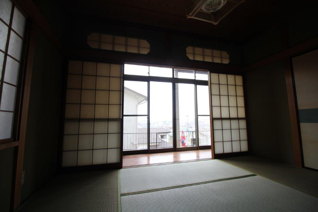 縁側付の和室。こちらも眺望good