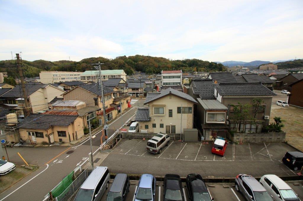 サンルーム(DK・洋室側)からの眺望