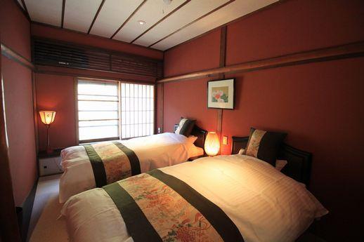 町家2階部分は寝室として利用。