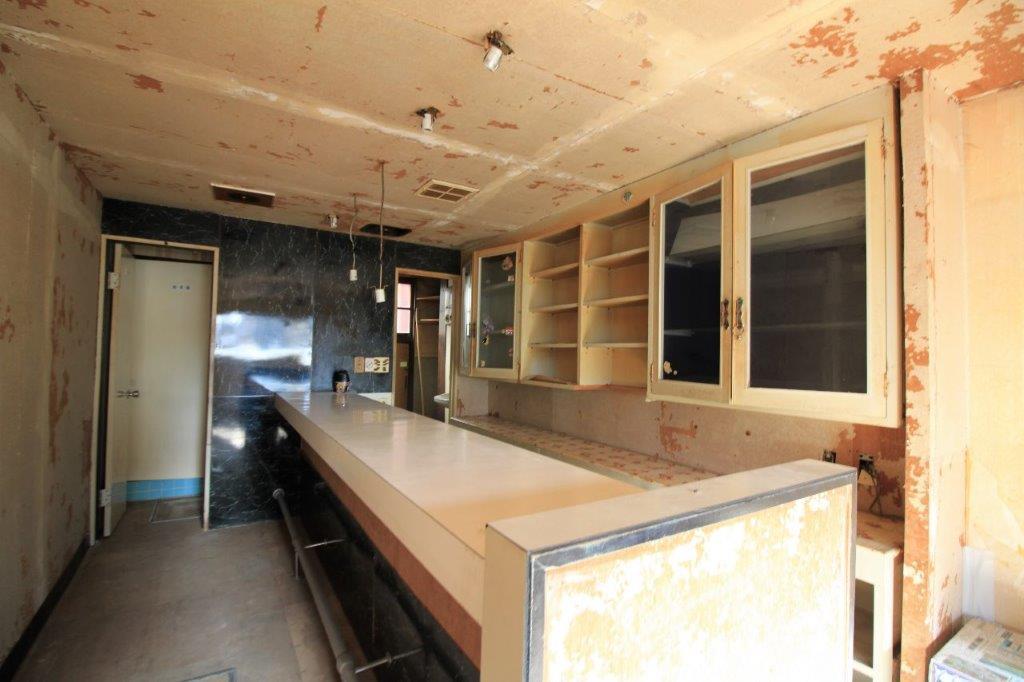 1階店舗:喫茶店仕様になっています。