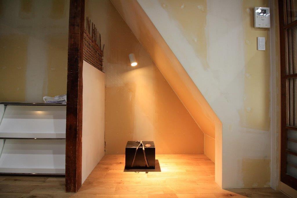 階段下のスペース。