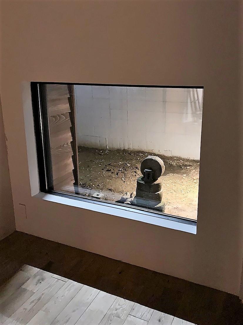 お庭あります。自分好みにいじってください。この窓からのビューを演出してみては