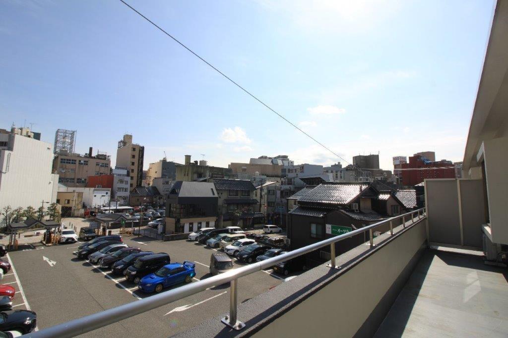 木倉町方面の眺望