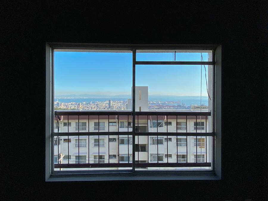 2階からは海まで見える眺望あり