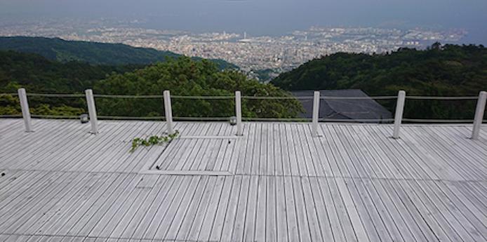 六甲山の最前列。