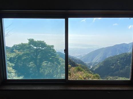 3階寝室からこの景色。