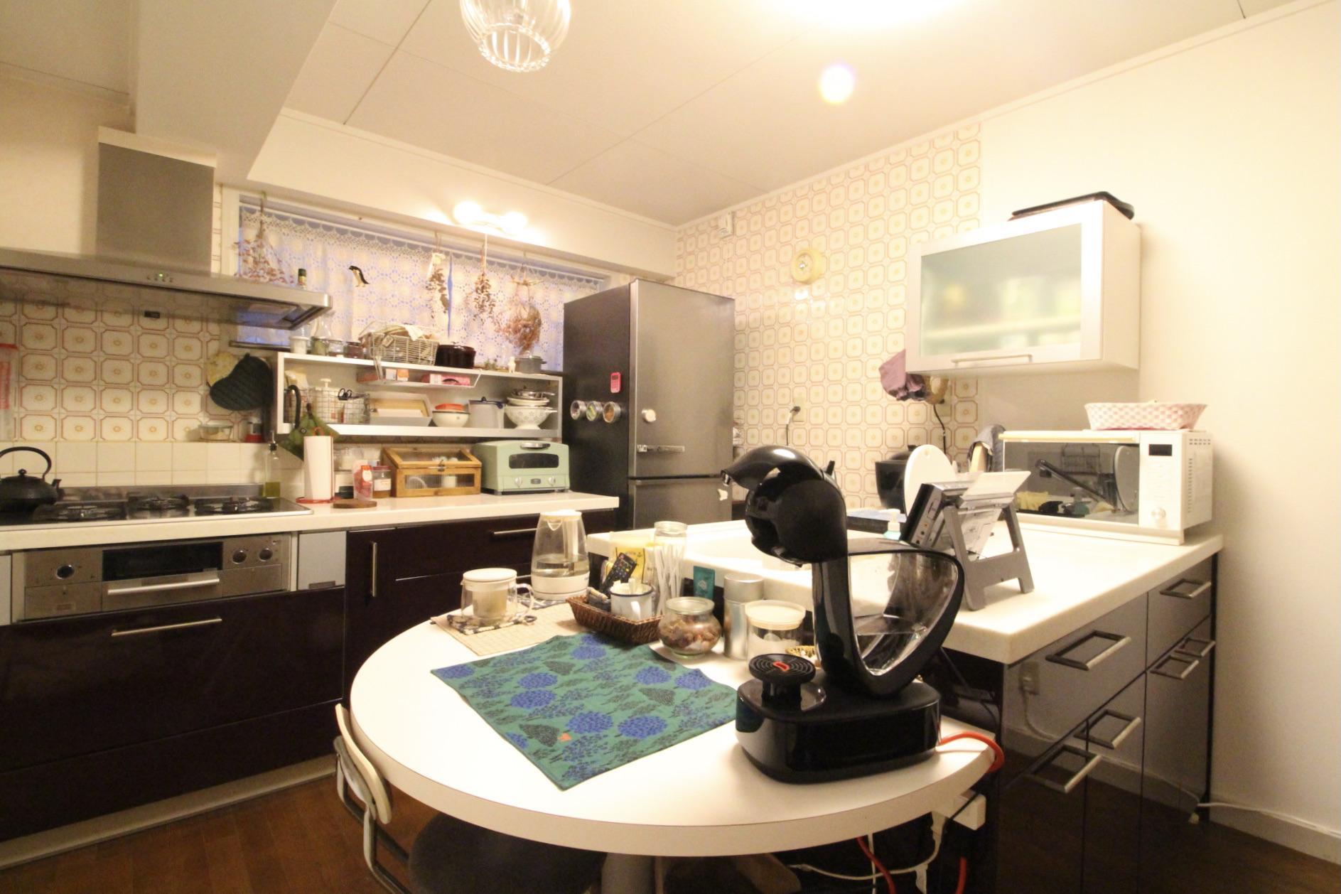 広くて使い勝手の良さそうなキッチン