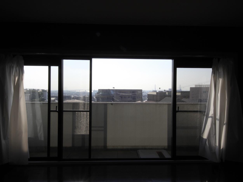 1階リビングと同様の窓
